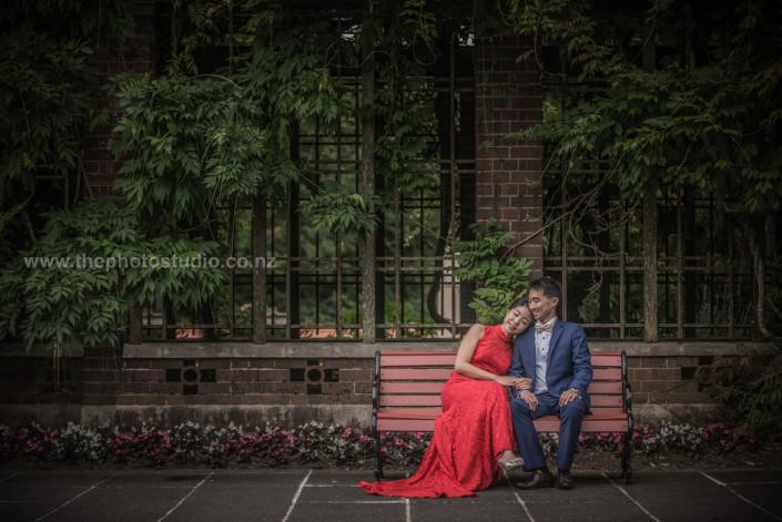 Rainbow & Raymond Wedding